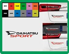 For DAIHATSU -  `DAIHATSU SPORT` - CAR DECAL STICKER   195mm x 38mm