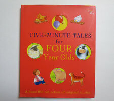 Five-Minute Tales for Four Year Olds- Parragon ( 2005, Hardcover)