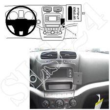 BRODIT 854652 Halterung Fiat Freemont Dodge Journey 2011-2013 GPS Halter Konsole