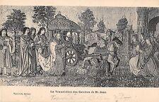 BF38866 la translation des cendres de st jeans  painting  art postcard