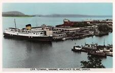 Photo. ca 1949. Nanaimo, BC Canada. Canadian Pacific Steamship Terminal