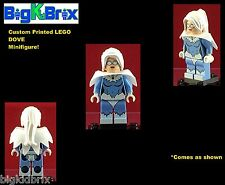 DOVE DC Custom Printed LEGO Minifigure with custom Cape and NO DECALS USED!