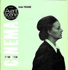 """""""CINEMA l'Avant-Scène"""" -février 1976- André TECHINE Souvenirs d'en France ;"""