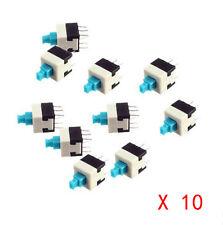10pcsBoutons poussoir interrupteurs autobloquant 8x8mm (self-locking DIP switch)