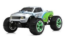 1/10 2.4G Exceed RC Radio Infinitive Nitro Gas RTR Monster 4WD Truck Green