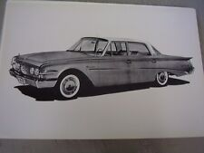 1960 FORD EDSEL   12 X 18 LARGE PICTURE   PHOTO