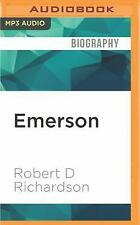 Emerson : The Mind on Fire by Robert D. Richardson (2016, MP3 CD, Unabridged)