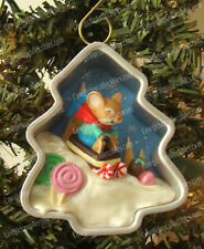 Cookie Cutter Mouse Chirstmas (Hallmark Ornament, QX8301) Artist Signed, 2012