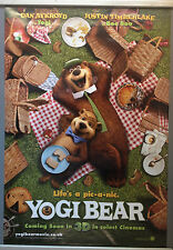 Cinema Poster: YOGI BEAR 2011 (Advance One Sheet) Justin Timberlake Anna Faris