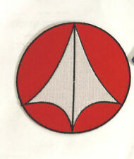 "Robotech Macross Anime  Logo 3.5"" Embroidered Patch- FREE S&H (RTMA-1001)"