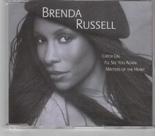 (GR459) Brenda Russell, Catch On/ I'll See You Again/Matters Of The Heart- DJ CD