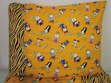 Charlie brown Halloween pattern 100% new Cotton handmade Pillowcase one pair