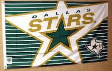 DALLAS STARS NHL  3' X 5' FLAGPOLE FLAG BANNER CLOSEOUT FREE SHIPPING
