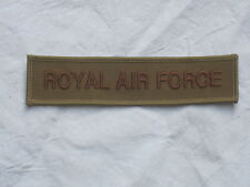 Schriftzug:  Royal Air Force, khaki,Luftwaffe,RAF,datiert 2010