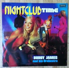 BUDDY JAMES & HIS ORCHESTRA Nightclub Time LP/GER Willem de Ruiter