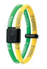 Trion Z Dual Magnetic Ionic Bracelet Yellow Green Size Small Energy Pain Relief