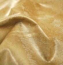 28 sf Distressed Lizard Print Upholstery Cow Hide Leather Skin y05F