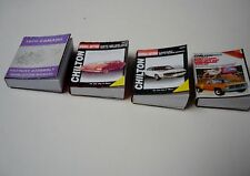 1/18 - CHEVROLET SHOP MANUALS SET#2- SCALE - for your shop/garage/diorama