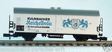 """Fleischmann Spur N 8326 K Bierwagen """"Kulmbacher Reichelbräu"""" (PH 89)"""