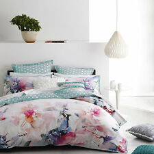 Logan and Mason JULIETTE ROSE QUEEN Size Bed Doona Duvet Quilt Cover Set