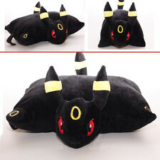 "17"" Pokemon Umbreon Transforming Pillow Pet Solf Cushion Plush Doll Toy Rare A"