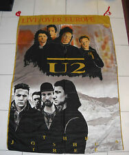 Bandiera U2 LIVE OVER EUROPE The Joshua Tree Tour Bono Vox Flag Merchandising