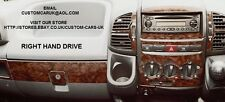 Walnut Or Carbon Fibre Dash Kit - MK2 Citroen Relay & Jumper All Vans/Motorhomes