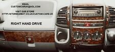 Walnut Or Carbon Fibre Dash Kit - Peugeot Boxer MK2 2002-06 All Vans /Motorhomes