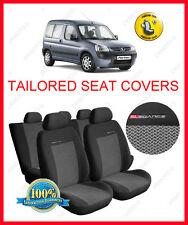 Peugeot Partner I 1997- 2007 Tailored seat covers full set   grey2