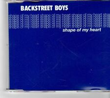(FM948) Backstreet Boys, Shape Of My Heart - 2000 DJ CD
