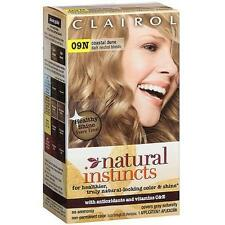 Clairol Natural Instincts #7, (Former 09N) Coastal Dune, Dark Blonde (3 Pack)