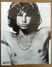 DOORS : Jim Morrison 'beads'  magazine PHOTO/Poster/clipping 12x10 inches
