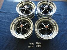 """Ford Mopar Dodge Chrsler Magnum 500 Wheels 15""""x8"""" With Lugs And Caps Complete"""