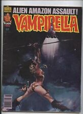 Vampirella Warren comic monster Vampire horror magazine 80 Alien Amazon Assault