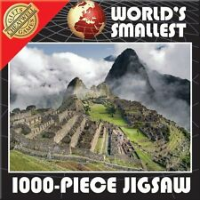 World's Smallest 1000 Piece Jigsaw Puzzle - Machu Pichu