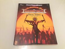 SLAVE TRIBES SUPPLEMENT FOR DARK SUN ADVANCED DUNGEONS & DRAGONS TSR