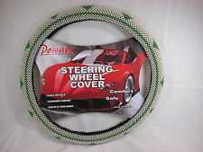 Beaded  Steering Wheel Cover for Cars or Pick Up Trucks NIB  #steH Closeout