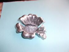 Mary Demarco La Contessa Pewter Card Holder, Swarovski Crystal Butterfly