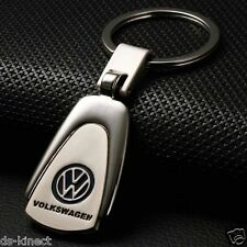 VW Volkswagen Silver Key Ring Chain NEW T6 T5 T4 Transporter Golf