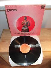 """GUEM """"Rythmes Africains Afro-Cubains Et Orientaux"""" LP LE CHANT DU MONDE FR 1980"""
