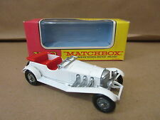 Yesteryear Matchbox Y-10 1928 Mercedes Benz 36/220 Lesney Product car automobile