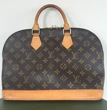 $1500 LOUIS VUITTON Alma PM Small Handbag Monogram Canvas Excellent Condition