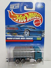 HOT WHEELS 1999 FORD STAKE BED TRUCK #1010