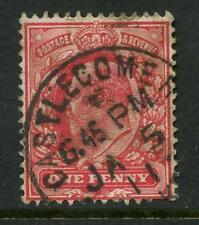 IRELAND KE7 CASTLECOMER VILLAGE POSTMARK on 1d...CO KILKENNY