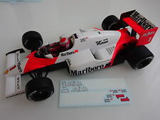 "Mclaren MP4/2B Niki Lauda "" Spare Decals "" 1985 1/18 for SOLIDO"