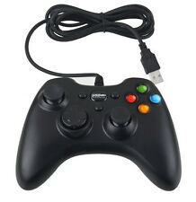 Wired USB Controller Gamepad Joystick Joypad for PC Computer Laptop Game Black