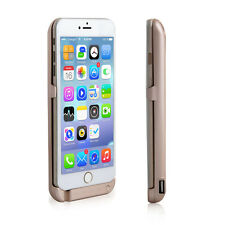 Gold iPhone 6/6S 10000mAh PowerBank Rechargeable Protective Battery Case w/ USB