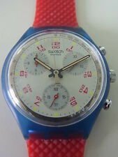 SCN103 New Swatch - 1992 Chrono JFK Classic Authentic Swiss Made Classic