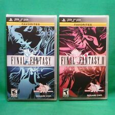 Final Fantasy I & II (PlayStation Portable PSP) Factory Sealed FF 1 & 2 NTSC US