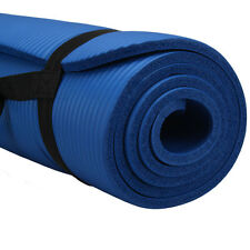 "10mm Thick Non-Slip Yoga Mat Pad Exercise Fitness Light Weight 72""x24"" Work"